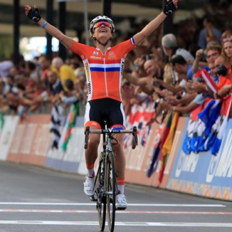 Dutch world and Olympic cycling champion Marianne Vos