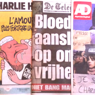 Dutch papers on the Charlie Hebdo killings: 'An attack on democracy'