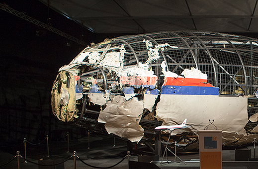 reconstruction MH17