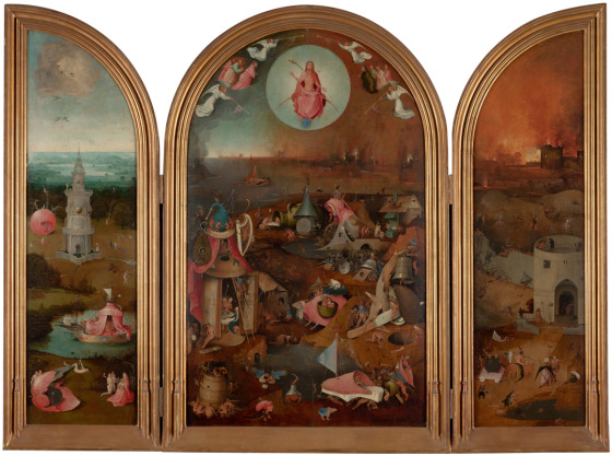 The Last Judgement. Brugge, Stad Brugge, Groeningemuseum. Photo: Rik Klein Gotink and Robert G.Erdmann for the Bosch Research and Conservation Project