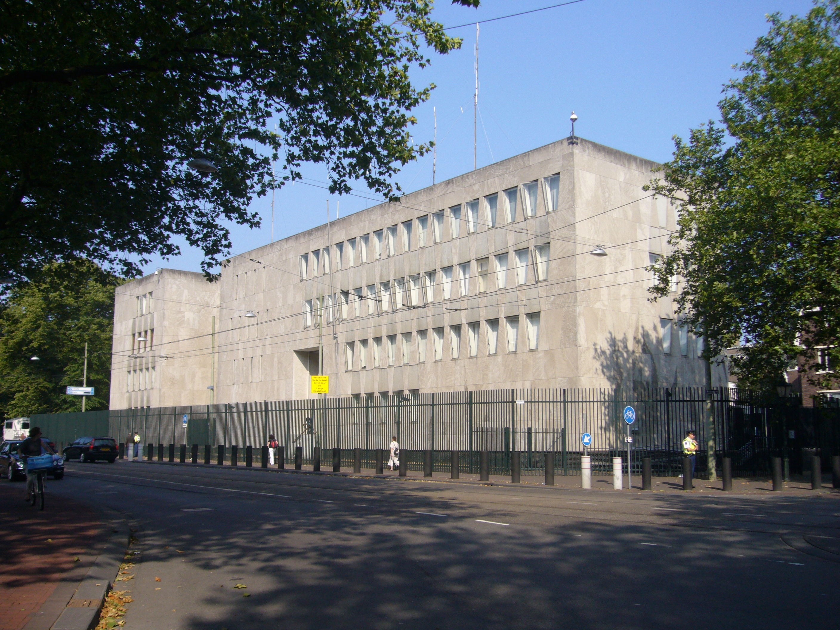 US Embassy In The Hague May Become Museum Hotel DutchNewsnl - Us embassy location map
