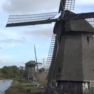 What living in a Dutch windmill is really like
