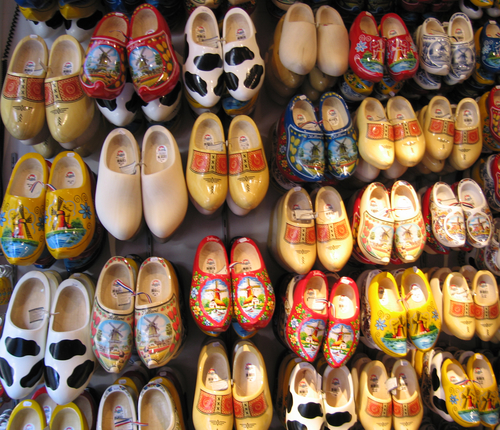 clogs wooden shoes netherlands