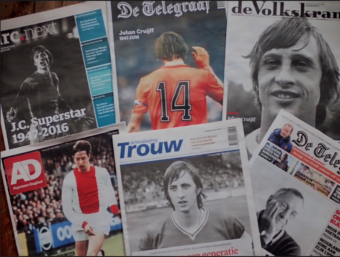 Cruijff what the papers say
