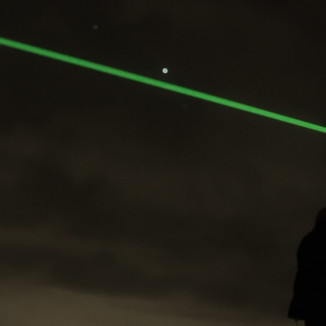 Windlicht is a led laser light show on a wind farm (update)