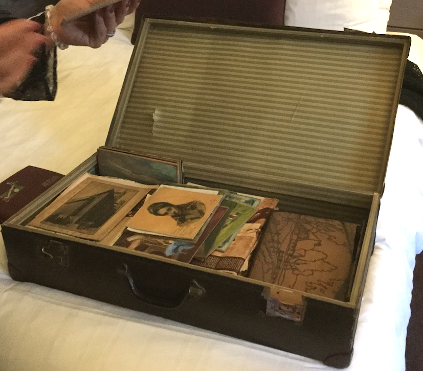 Emmy Porges suitcase found in Amsterdam