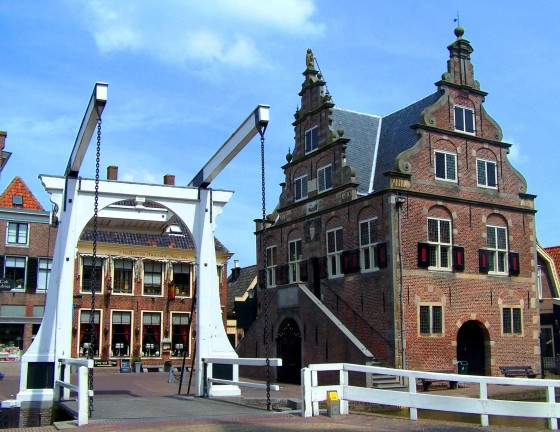 The town hall (and tourist information) in De Rijp