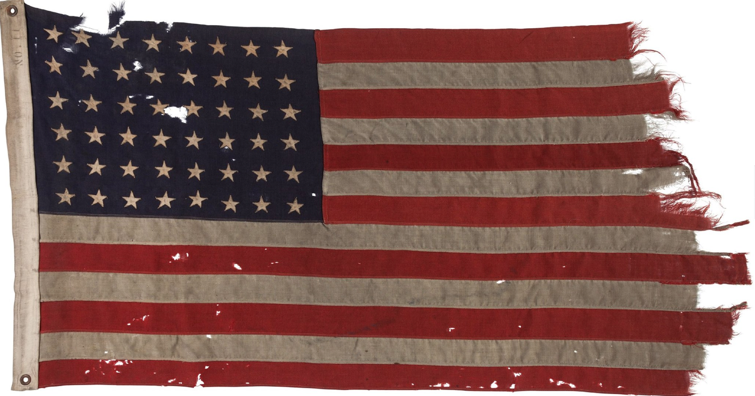 dutch art collector buys historic wwii us flag for 514 000