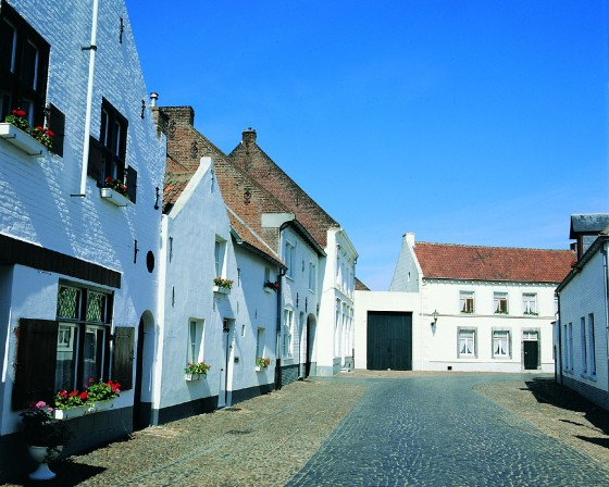 The White Houses in Thorn. Photo: Holland.com