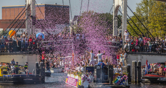 Amsterdam turns pink and gears up for 15 days of EuroPride