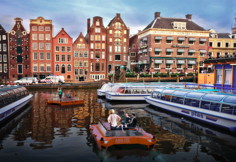 Amsterdam to get world's first robot boat