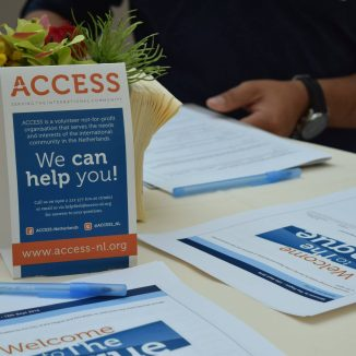 Volunteer organisation Access has been helping new arrivals settle for 30 years