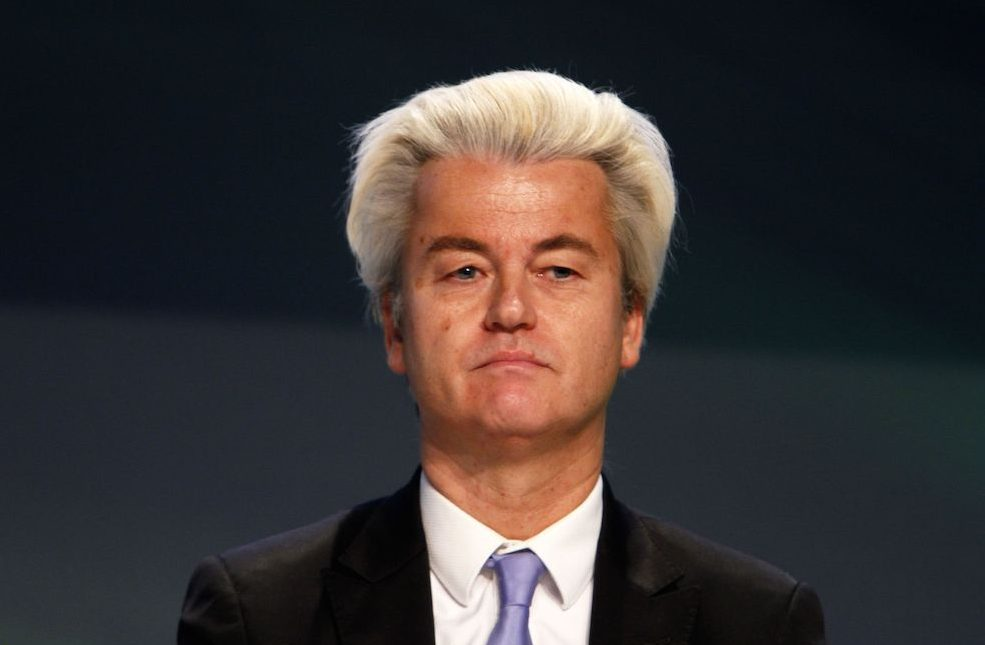 Wilders earlier this year. Photo: Franco Cavassi/AGF/SIPA