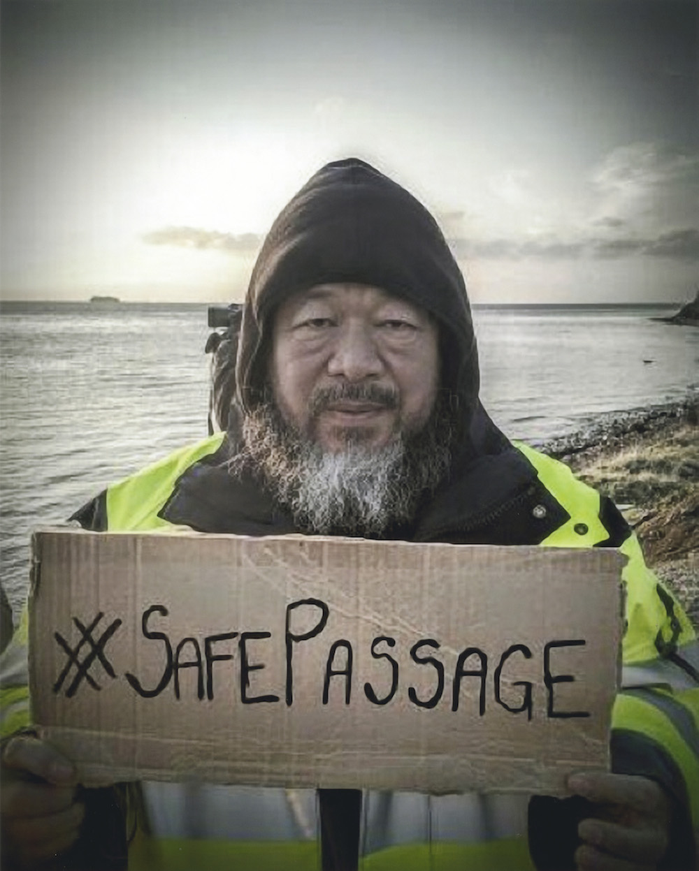 #Safe Passage on Facebook. Photo:  Photo: Ai Weiwei Camps