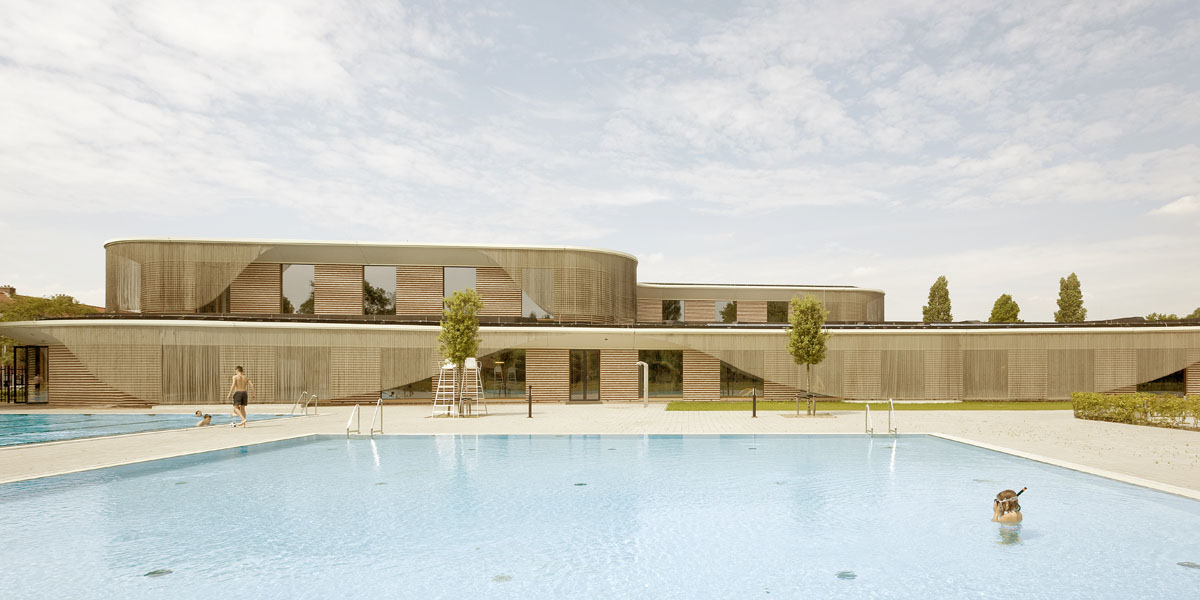 Amsterdam Swimming Pool Wins Most Beautiful Public Pool Competition
