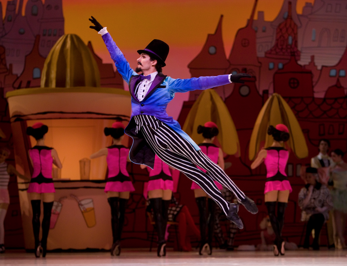 The National Ballet is performing Coppelia. Photo: Angela Sterling