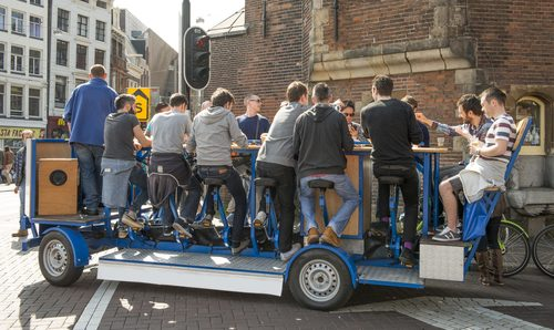 Beer bike ban in Amsterdam overturned in court