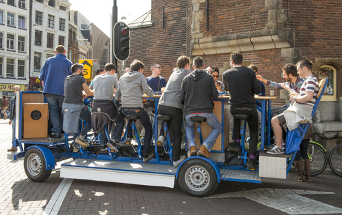 The Beer Bike Can Be Banned From Central Amsterdam Judges Say