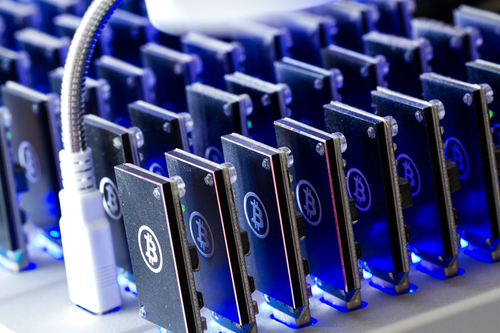 Bitcoin mining. Photo: Depositphotos.com