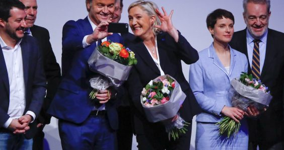 Wilders joins far-right parties in attack on EU, Islam and the press