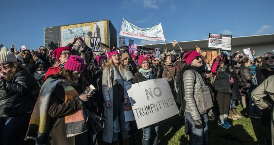 Thousands join Women's Marches in the Netherlands