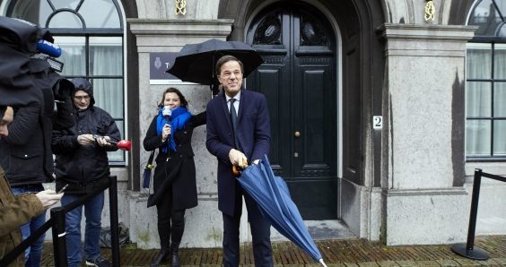 Rutte seeks 'stable' coalition of four parties for next cabinet