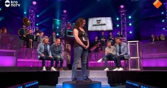 Fat or pregnant? section dropped from Dutch game show