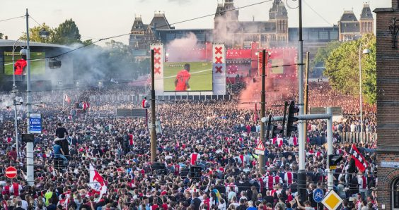 Youthful Ajax lose 2-0 to Manchester United in Europa League final