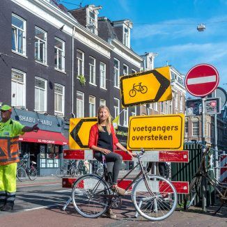 Amsterdam's first bicycle mayor discusses her first year in office