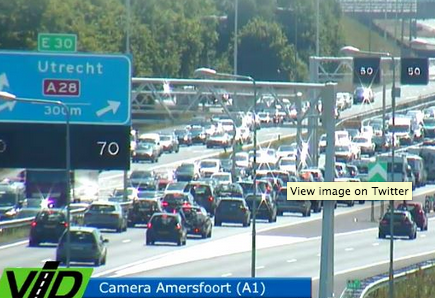 Sunshine and accidents lead to record Ascension Day traffic jams