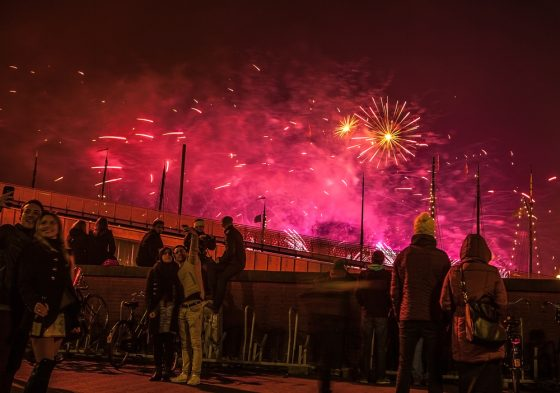 Hospitals treat fewer people for New Year firework injuries
