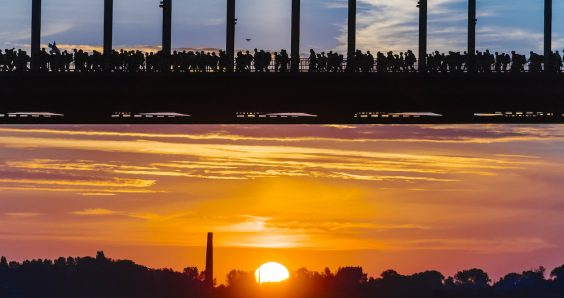 101st Nijmegen four-day march gets underway at dawn with 42,000 walkers