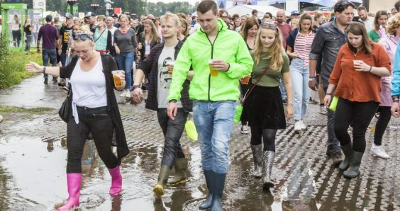 Wellingtons and waterproofs as Lowlands kicks off for 25th time