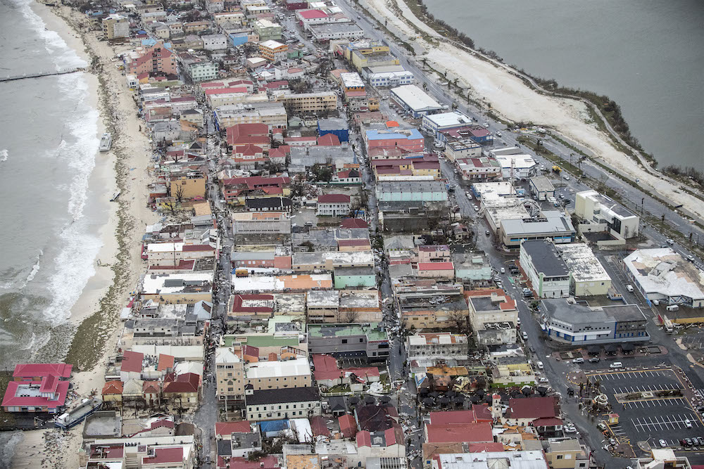 Sint Maarten aid effort starts after Irma, with a second hurricane on its way