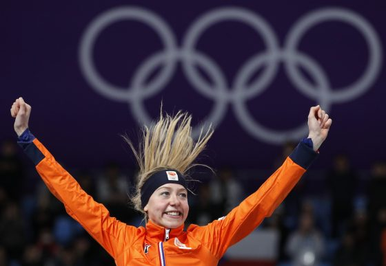 Visser claims women's 5000m speed skating title at PyeongChang Games