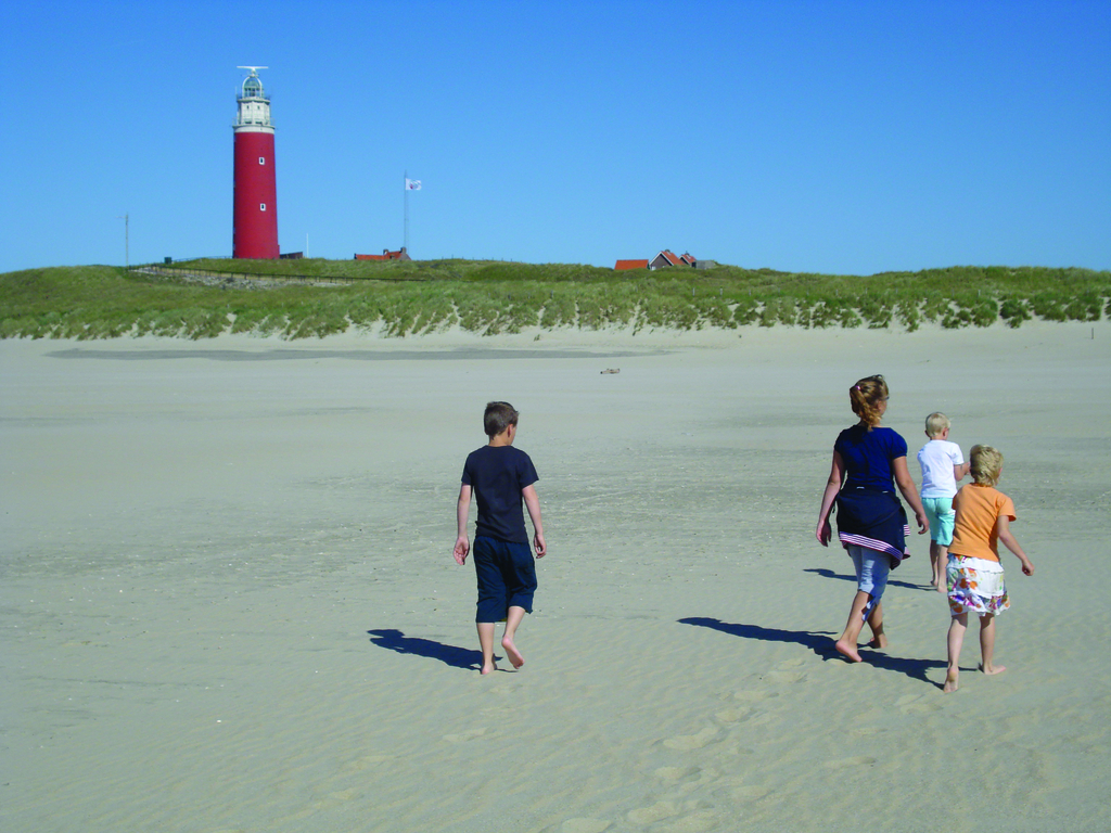 The Wadden Sea island of Texel has wide beaches. Photo: Holland.com
