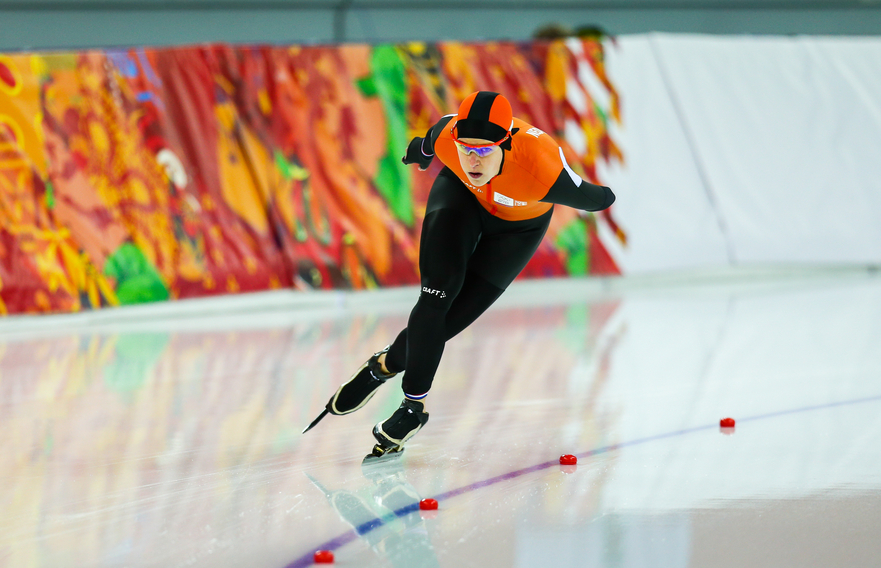 Speed Skating. Ladies' 5000 m