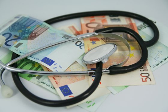doctor euros healthcare cost