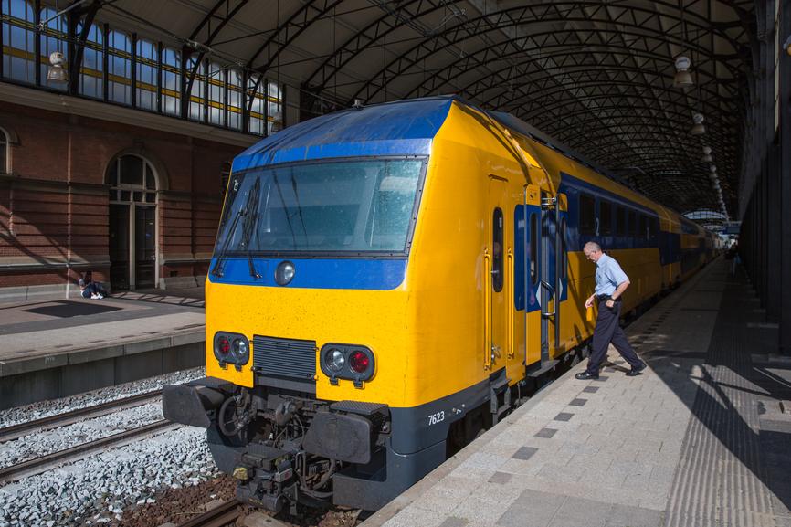 A Dutch train.