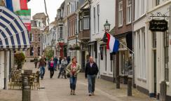 Mainstreet of Wijk bij Duurstede