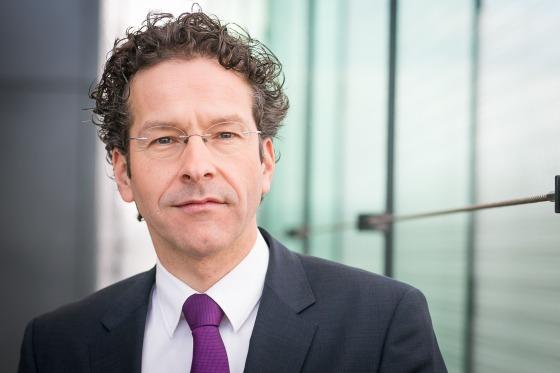 finance minister Jeroen Dijsselbloem