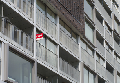 A flat for sale.