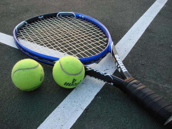 tennis racket and balls wmc