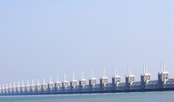 Ocean Barrier in the Netherlands