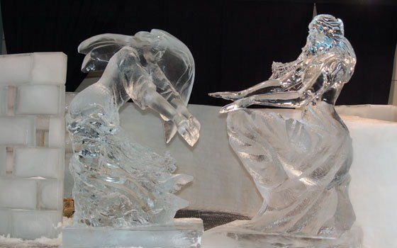 Zwolle ice sculptures