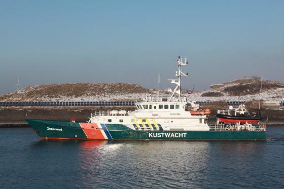 Coastguard at Hoek van Holland