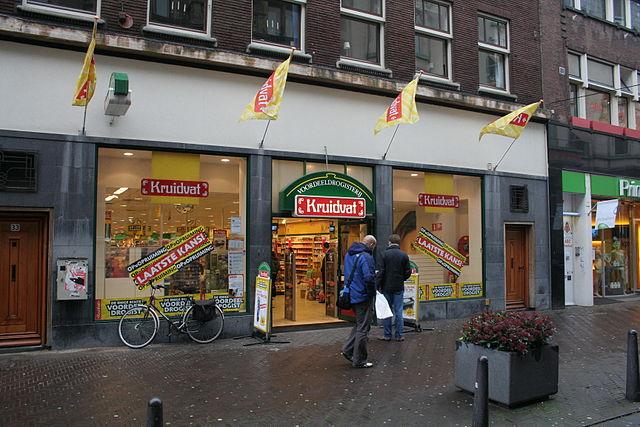 Kruidvat high street shop
