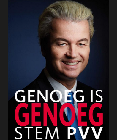 PVV election poster
