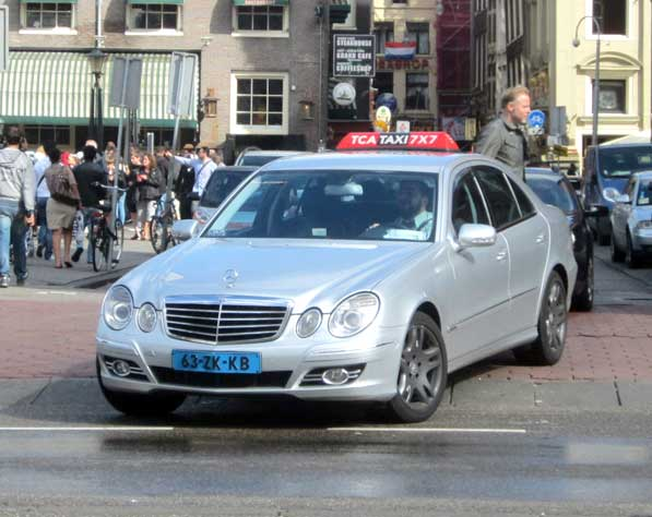 Amsterdam taxi number surge, drivers barely make ends meet