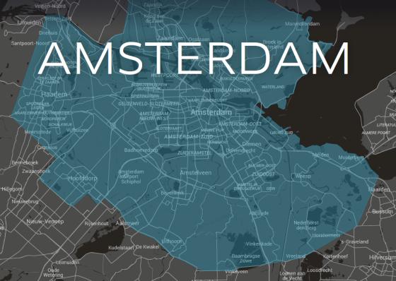 uber map amsterdam